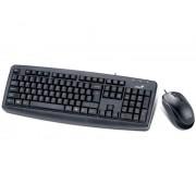 Kit Tastatura + Mouse GENIUS; model: KM-130; layout: US; BLACK; USB