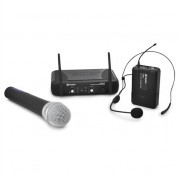 Skytec STWM722C UHF Wireless Microphone Set Headset