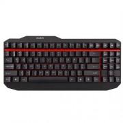 Klávesnica Zalman ZM-K500, herná, 5 hot keys, mechanická, black, USB, ENG