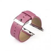 Leder Armband Echtleder für Apple Watch Rosa 42 mm Uhrenband mit Uhrenadapter Connector Adapter Echtes Leder Strap Genuine 38mm und 42mm, von Kobert-Goods