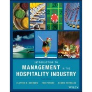 Introduction to Management in the Hospitality Industry by Clayton W. Barrows