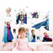 Stickere perete copii 5D Frozen