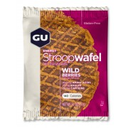 GU Energy StroopWafel - Nutrition sportive - Wild Berry 30g rose/marron Compléments alimentaires