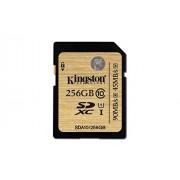 Kingston Technology 256GB SDXC Class 10 UHS-I 90 Read 45 Write Flash Card (SDA10/256GB)