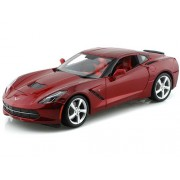 2014 C7 Chevy Corvette Stingray 1/18 Red by Collectable Diecast