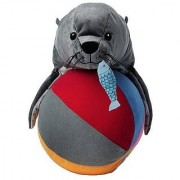 Ikea Klappar Cirkus Sealion with Fish and Ball Cute Flush Soft Toy New-born Baby Toddler Kids Nursery Bedroom Decoration