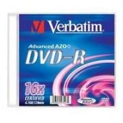 VERBATIM DVD-R100-PackSlim16x4.7GB