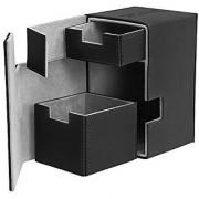 Flip N Tray Xenoskin Deck Case 100/120 Card Black