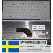 Clavier Qwertz Suédois / Swedish Pour ACER ASPIRE AS2920 2920 AS2420 2420 2920Z Series, Gris / Grey, Model: NSK-A9V0W, P/N: 9J.N4282.V0W, KB.INT00.224