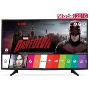 "Televizor LED LG 125 cm (49"") 49UH6107, Ultra HD 4K, Smart TV, webOS 3.0, WiFi, CI+ + Voucher Cadou 50% Reducere ""Scoici in Sos de Vin"" la Restaurantul Pescarus"