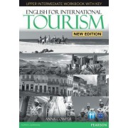 English for International Tourism Upper Intermediate New Edition Workbook with Key and Audio CD Pack by Anna Cowper