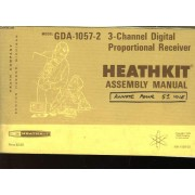 Assembly And Operation Of The Heathkit - 3 - Channel Digital Proportional Receiver Model Gda - 1057 - 2