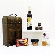 Fine Food Store Celtica Fine Food petto con latifoglie vino rosso Idee regalo per ogni occasione