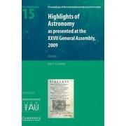 Highlights of Astronomy: Volume 15: Vol. 15 by Ian Corbett