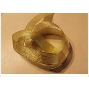 Stuha ozdobná 25mm zlatá