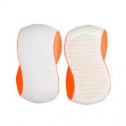Detangler Grip Brush Kefa na vlasy pro ženy Velký kartáč na vlasy Odtieň - White Orange