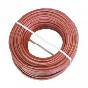 Silicone Kabel 2 x 1 mm2 Per meter