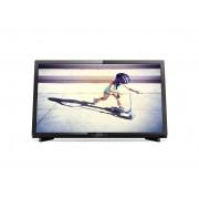 """Philips 22"""" LED TV, Full HD, 200 PPI,12V, Digital Crystal Clear, DVB-T2/C/S3"""