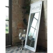 Maisons du monde Specchio trumeau bianco in legno H 170 cm CÉLESTINE