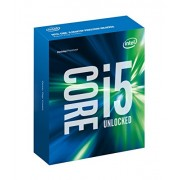 Intel BX80662I56600K Core i5-6600K (3.5 GHz) Socket 1151 Quad Core Processor