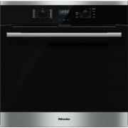 Miele ContourLine H2566BP CleanSteel Single Built In Electric Oven - Stainless Steel