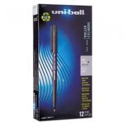 Onyx Roller Ball Stick Dye-Based Pen, Black Ink, Fine, Dozen