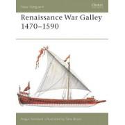 Renaissance War Galley 1470-1590 by Angus Konstam