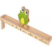Dřevěná rampa žába