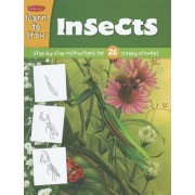 Learn to Draw Insects by Diana Fisher