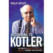 According to Kotler by P Kotler