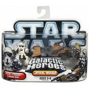 Star Wars Galactic Hero Scout Trooper with Speeder Bike