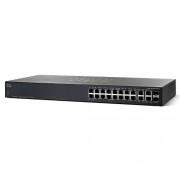 Switch SRW2016-K9-EU, 18 Porturi 10/100/1000, 2 Porturi combo mini-GBIC