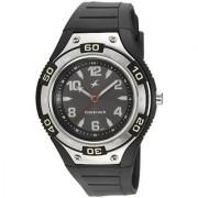 Fastrack Quartz Black Round Men Watch NE9333PP02J