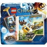 Includes Lagravis minifigure with 2 weapons- Features castle column nest lion Speeder ripcord power-up 6 CHI and 5