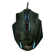 GXT 155C Gaming Mouse - Green Camouflage Trust optički miš 4000dpi