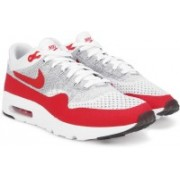 Nike AIR MAX 1 ULTRA FLYKNIT Sneakers(Red, White)