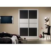 Frente de armario Combinado Tecnconland + Melamina blanca