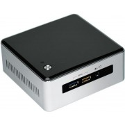 "Barebone Intel NUC (Next Unit of Computing) 5I3MYHE (Procesor Intel® Core™ i3-5010U (3M Cache, 2.10 GHz), Broadwell, No RAM, No HDD, suport 2.5"" HDD/SSD si M.2 SSD, Intel® HD Graphics 5500, 4K, 2xMini DisplayPort, No Wireless Card)"