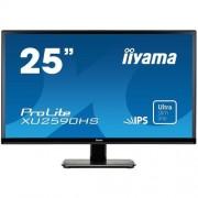 Monitor iiyama XU2590HS-B1, 25'', LCD, IPS, 5ms, 250cd/m2, 1000:1 (5M:1 ACR), VGA, DVI, HDMI, repro