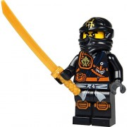 LEGO Ninjago: Minifigur Cole with Weapon NEW 70747 71207