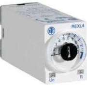 Releu temporizare întârziere acționare - 0,1 s...100 h - 230 v c.a. - 4 oc - Relee de temporizare - Zelio time - REXL4TMP7 - Schneider Electric