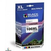 BlackPoint [BPL100XLCMYK] Multipack Black Point (Lexmark 100XL) CMYK