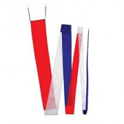 In the Breeze Red/White & Blue Streamer Kite Tail 32