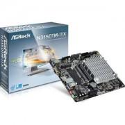 Carte mre ASRock N3150TM-ITX - Thin Mini-ITX avec Processeur Intel Celeron N3150 - 2 x SATA 6 Gb/s - USB 3.0