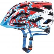 UVEX air wing Helmet Junior white-red 52-57 cm Kinderhelme