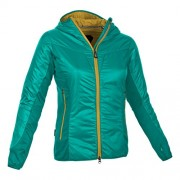 SALEWA, Giacca Donna Area PRL, Verde (Dragonfly/2500), 40/34