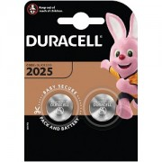 Duracell DL2025 Coin Cell Battery - 2 Pack (DL2025B2)