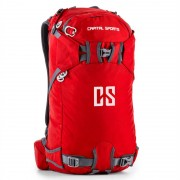 Capital Sports Dorsi Mochila deportiva 30l impermeable nailon rojo