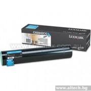 LEXMARK Cartridge for C935, cyan - 24000k (C930H2CG)