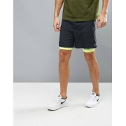 Nike Running 7 Pursuit 2-In-1 Shorts In Black 683288-010 - Black (Sizes: 2XL)